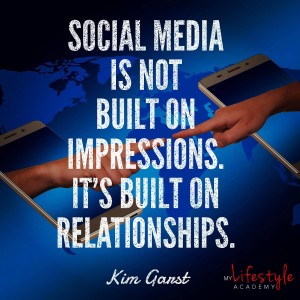 My Lifestyle Academy Kim Ganst quote