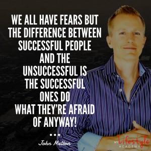 John Melton Fear Quote