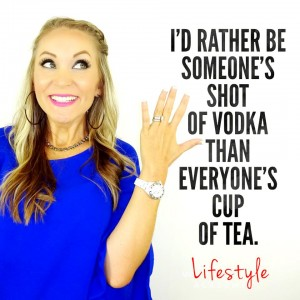 Nadya Quote on tea and vodka