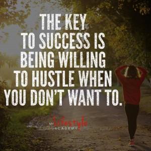 Hustle Quote