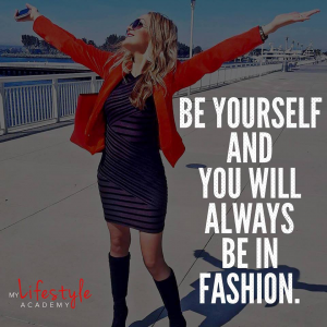 Nadya Melton Quote on being yourself