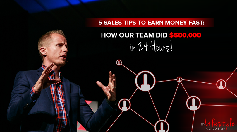 5 Sales Tips To Earn Money Fast in Network Marketing