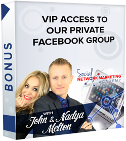 Bonus : VIP Access to our Private SNMA Community
