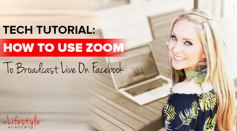 Tech Tutorial: How to Use Zoom to Go Live on Facebook