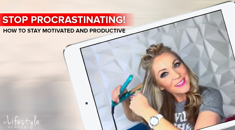 Stop Procrastinating: How to Stay Motivated And Productive