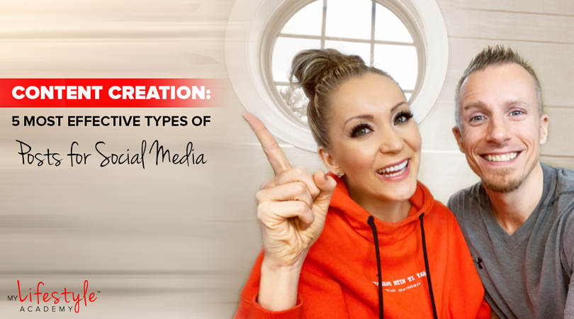 Content Creation: 5 Most Effective Types of Posts for Social Media