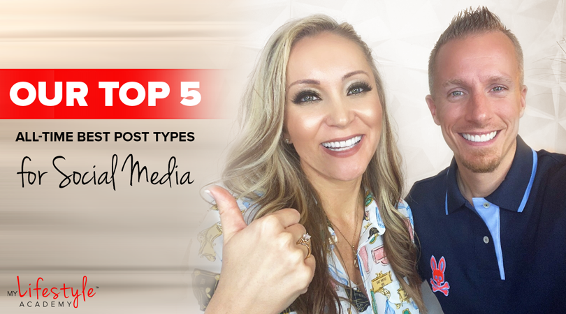 Our Top 5 All-Time Best Post Types for Social Media